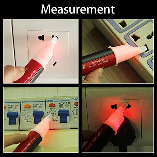 Signstek Maintenance and Test Electrical Test Kit, Including Palm Size Multimeter, Receptacle Tester and AC Voltage Detector by Signstek (Image #5)