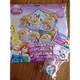 Disney Princess Party Supplies Set - Cupcake/Snack Stand + 18 Disney Princess Cupcake Liners W/Bonus Picks! Featuring Cinderella, Ariel & Rapunzel!