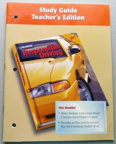 responsible driving study guide aaa 9780026533881 amazon com books rh amazon com responsible driving study guide answers responsible driving study guide chapter 2