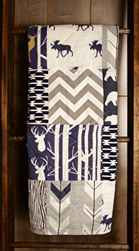 Amazon.com : Baby Boy Hunting Quilt, Baby Quilt, Woodland, Deer ... : hunting quilts - Adamdwight.com