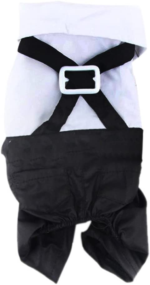 honboo mascota perro gato prendas de vestir traje esmoquin lazo de ...