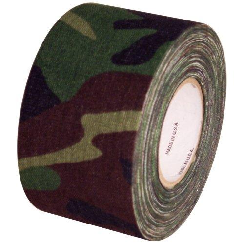 (Cloth Hockey Stick Tape You Pick (Camo Green, 2