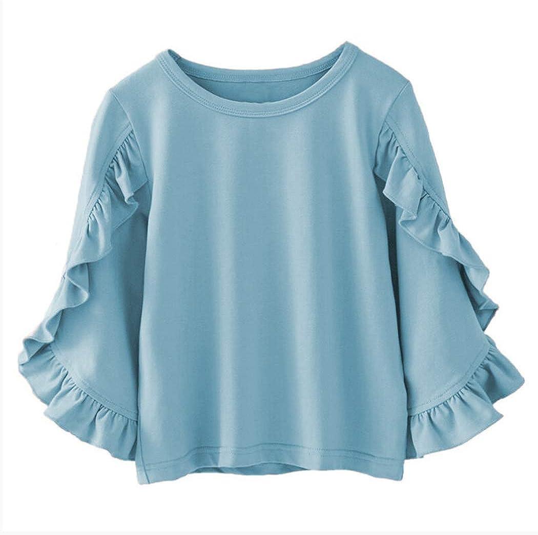 Amazon.com: Colorful Childhood Little Girls Ruffle Bat T Shirt Autumn  Princess Girl Blouses Spring Tops: Clothing