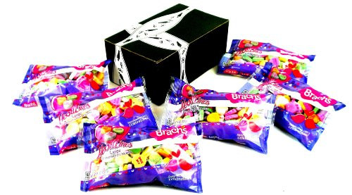 UPC 651818904938, Brach's Heartlines Large Conversation Hearts, 8 oz Bags in a BlackTie Box (Pack of 6)