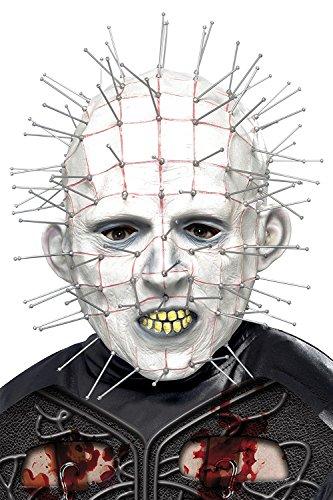 Hellraiser Men's Costume Accessory Pinhead Mask One Size White]()