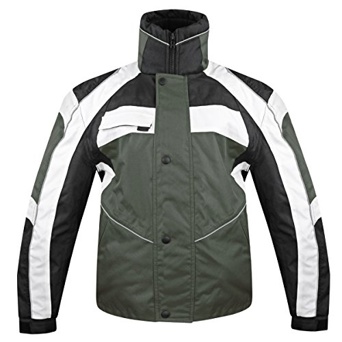 Snow Master Mens Stormer Insul Tex Gray Cold Weather Motorcycle/Snowmobile Jack - ()