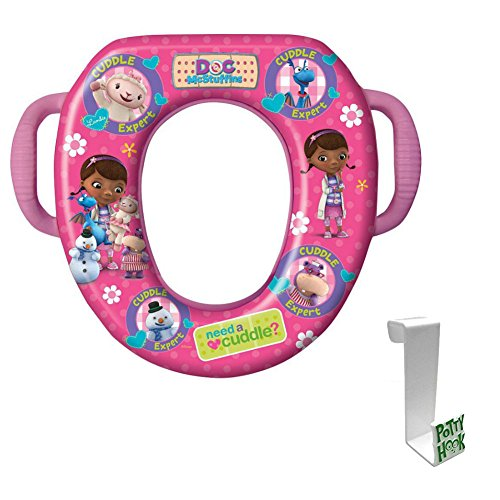 Doc McStuffins Soft Potty Seat with Toilet Tank Potty Hook