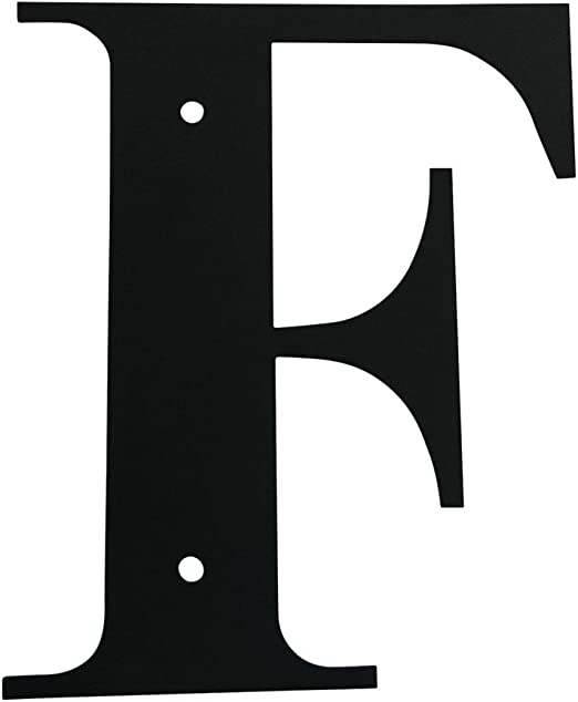 18 Inch Letter F Large