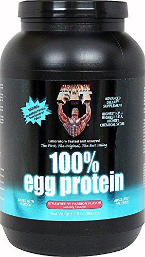 Sains N Fit Nutritionals - 100% de protéines d'oeuf Fraise Passion, £ 2 poudre
