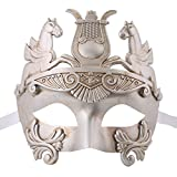 Xvevina Greek & Roman Style Men Venetian Metallic Mask For Masquerade / Party / Ball Prom / Mardi Gras / Wedding / Wall Decoration