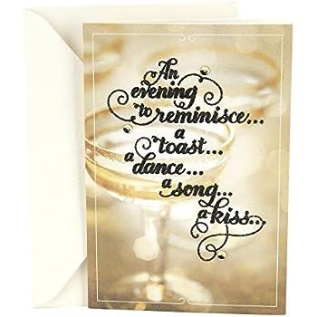 Amazon.com : Hallmark New Years 2018 Romantic Love Greeting Card ...