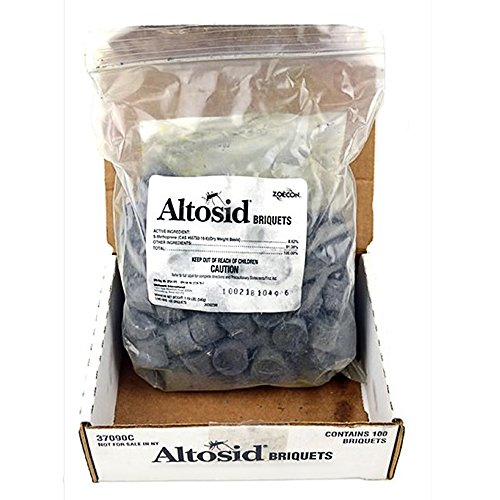 Altosid 30-Day Mosquito Killing Briquets (Pack of 100) by Altosid