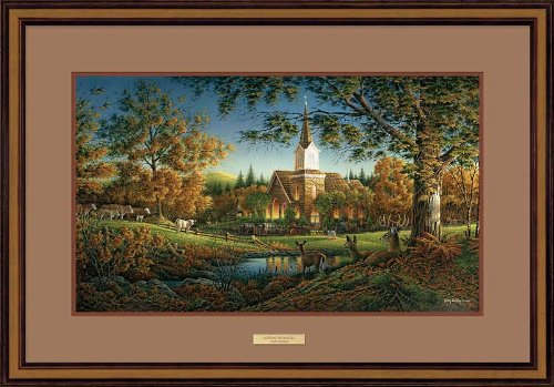 Sunday Morning Framed Elite Print by Terry Redlin by Wild Wings
