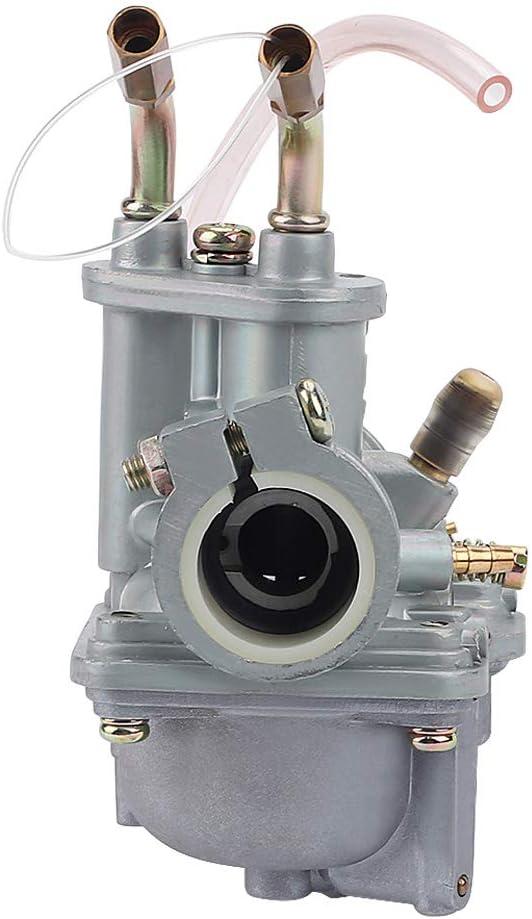 AloneGoer PW 50 Carburetor Compatible with 1981-2009 Yamaha PW50 MJ50J MJ50L YF60 YT60 Towny Tri-Zinger Yamahopper