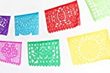 MEXICAN PAPEL PICADO Banner MEDIUM PAPER