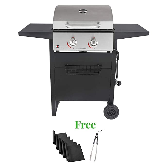 Durable Outdoor gas/Charcoal Grill – The 2 Burner Gas/Charcoal Grill Combo