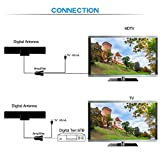[2018 UPGRADED]Amplified HD Digital TV Antenna with