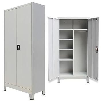 Furnituredeals Ordner Ordner Büro Schrank Mit 2 Türen