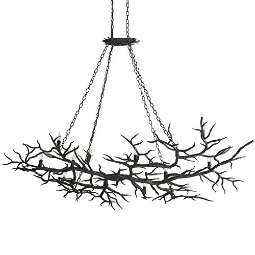 Wrought Iron Branch - 9