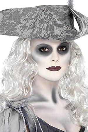 Adulto Halloween Fantasma Barco Pirata Kit De Maquillaje Accesorio ...