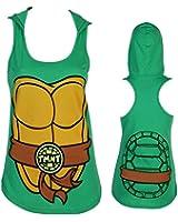 Teenage Mutant Ninja Turtle I Am Character Hooded Juniors Tank Top