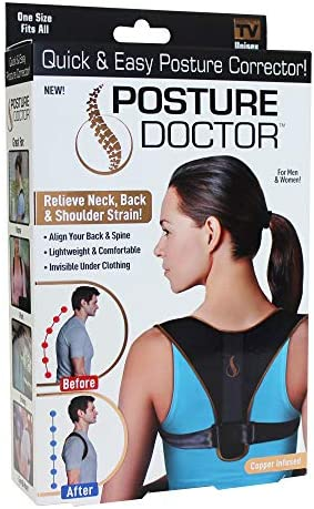 Ontel Posture Doctor Quick & Easy Posture Corrector