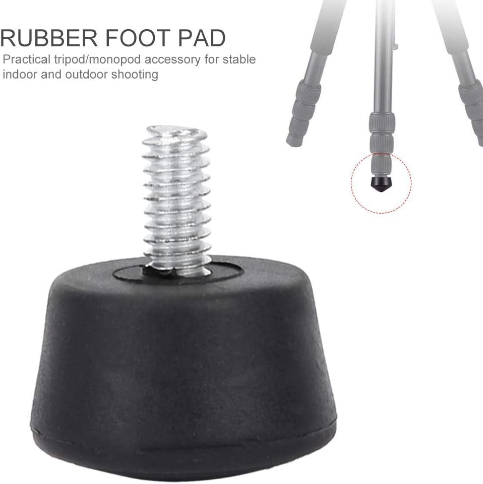 Wandisy Universal Anti-Slip Rubber Foot Pad Photography Accessories for Tripod Monopod 3//8 Inch
