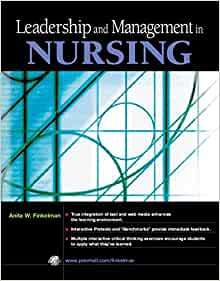 NURSING LEADING IN AND MANAGING