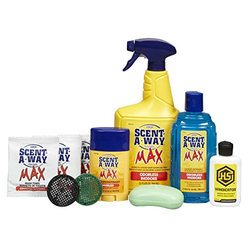 Hunters Specialties Scent-A-Way 07736 Max Odorless Kit (10 Piece) ()