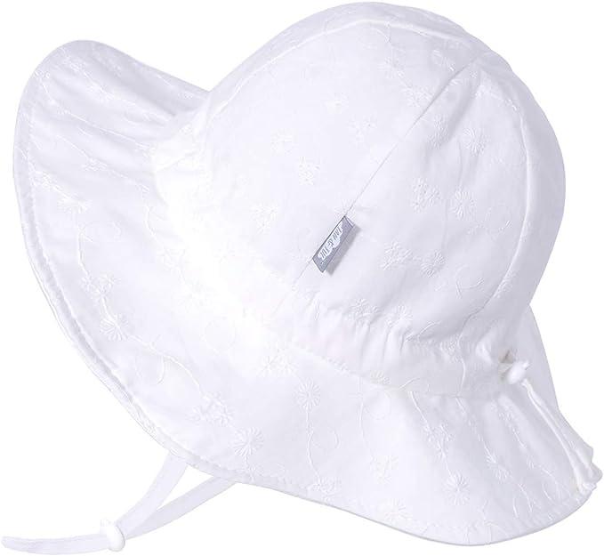 50 Jan /& Jul Kids GRO-with-Me Aqua-Dry Adventure Hat UPF Wide Brim Water-Repellent Sunhat
