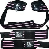 Nordic Lifting Lifting Wrist Wraps Bundle, (2 Pairs) - Black/Pink