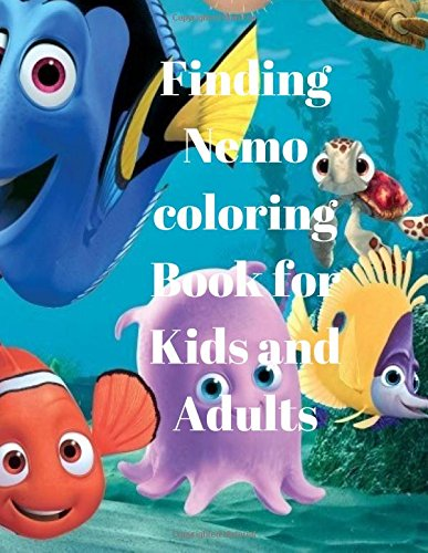 Finding Nemo coloring Book for Kids and Adults