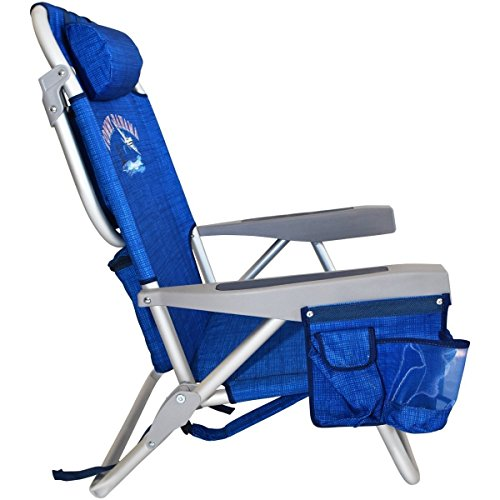 Tommy Bahama Backpack Cooler Chair (Blue)