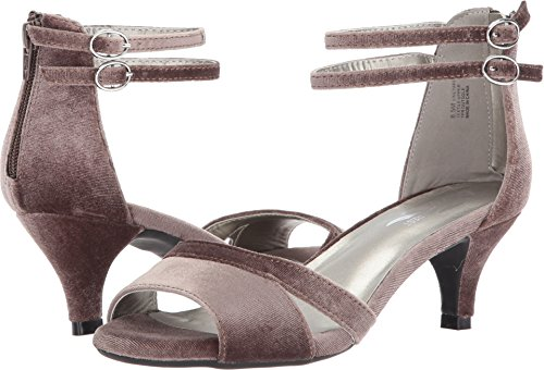 A2 by Aerosoles Women's Vineyard Dress Pump, Taupe Fabric, 9.5 M (Canvas Pump Heels)