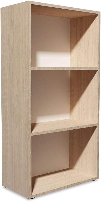 vidaXL Estantería 60x31x116,5 cm Madera Color Roble Repisas Mueble Organizador