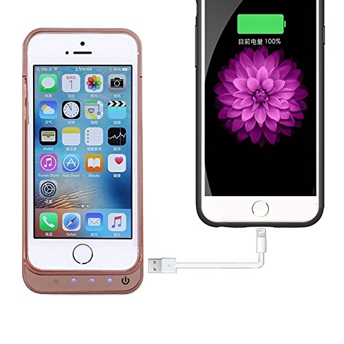 iPhone 5 Battery claim SQDeal compact 4200mah External Battery Charger claim Protective Cover veggie juice ability Bank for iPhone 5 5S 5C SE went up Gold Batteries