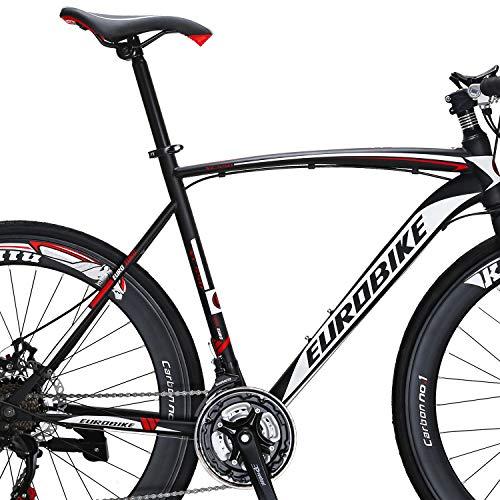 Road Bike 700C Wheels 21 Speed Disc Brake Bicycle 54cm/Medium Frame Size