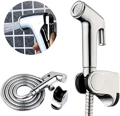 Stainless Steel Shattaf Adapter Spray Handheld Bidet Toilet Hose Diaper Sprayer Wall Bracket Hose Kit Color Shattaf Shower Head Shower Head Amazon Ca Home Kitchen