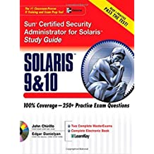 Sun Certified Security Administrator for Solaris 9 & 10 Study Guide (Certification Press) by Chirillo, John, Danielyan, Edgar (2005) Paperback