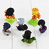 Q version 5cm Naruto Uchiha Sasuke Uchiha Madara Orochimaru 6pcs/set Action Figure Toys Collective Dolls