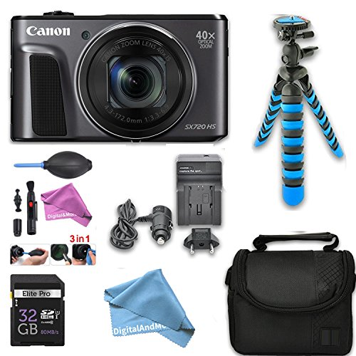 Canon PowerShot SX720 HS Digital Camera with 40x Optical Zoo