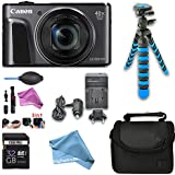 Canon PowerShot SX720 HS Digital Camera with 40x Optical Zoom & DigitalAndMore Exclusive Deluxe Accessory Kit Bundle