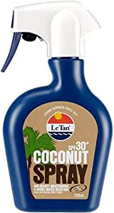 Le Tan Coconut Fragrance Spray Sunscreen 30+SPF 250ml Moisturising