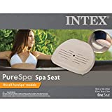 Intex Pure Spa 6 Person Inflatable Portable Outdoor Bubble Jets Hot Tub 28409EIntex Removable Slip-Resistant Seat for Inflatable Pure Spa Hot Tub | 28502E (2 Pack)