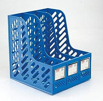 File, Paper, Magazine Rack Holder for Office & Home - Blue