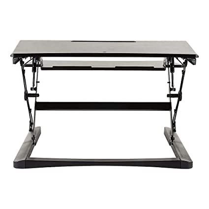 huge selection of c51bc ae7e5 Amazon.com : Staples 2452742 Sit to Stand Adjustable Desk ...