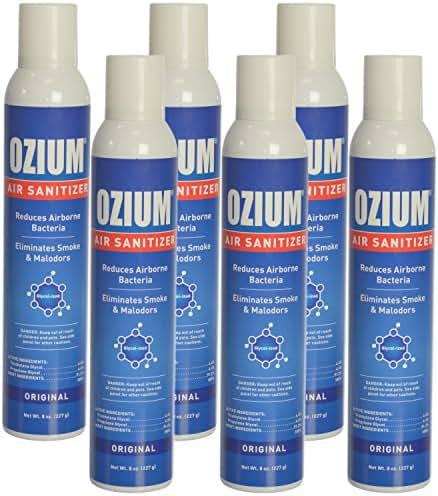 Ozium Air Freshener & Sanitizer (8 oz.) - Pack of 6