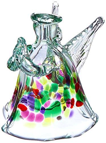 Angels Art Glass - Kitras 4-Inch Angel Art Glass, Memories