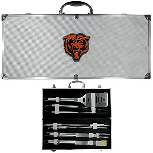 NFL Chicago Bears 8-Piece Barbecue Set w/Case