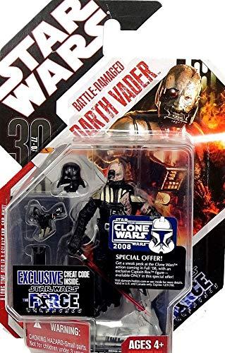 Hasbro Star Wars Basic Figure Force Unleashed Darth Vader